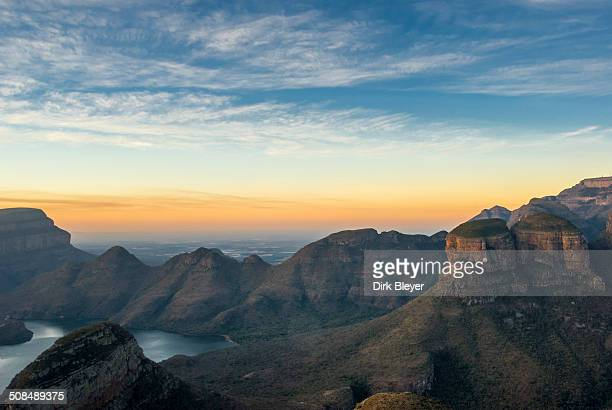 Rock formation Three Rondavels, Blyde River Canyon, Panorama Route, Mpumalanga Province, South Africa