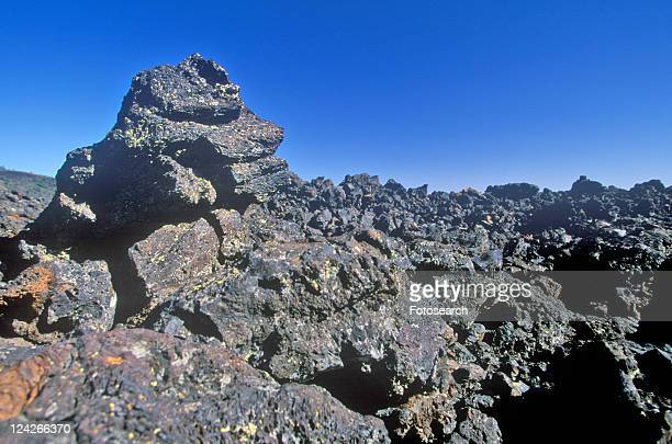 Rock Formations at Craters of the Moon National Monument