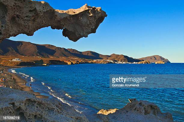 Rock formations in Cabo de Gata.