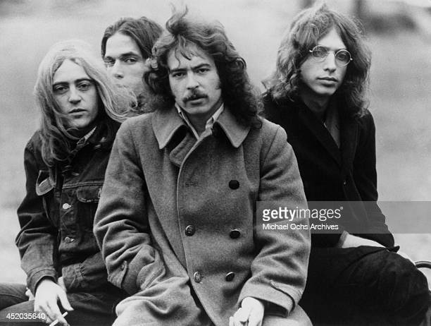 Rock group Stories pose for a portrait to promote their self titled debut album in 1972