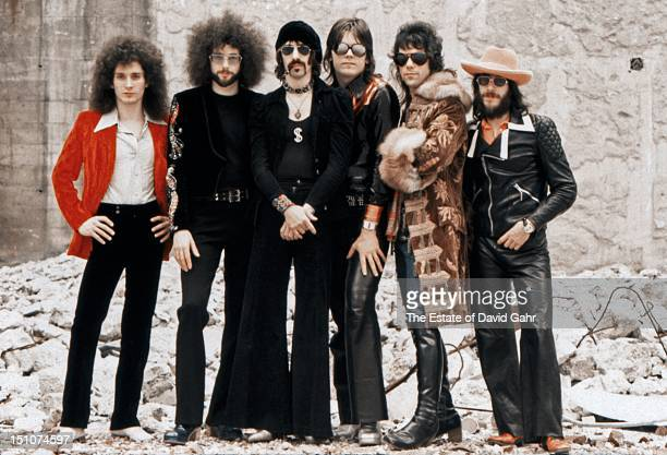 Rock group The J Geils Band pose for a portrait on June 4 1974 in New York City New York