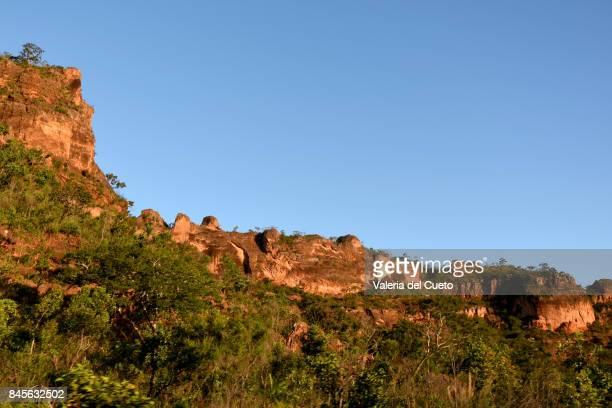 Rock line in Chapada dos Guimarães