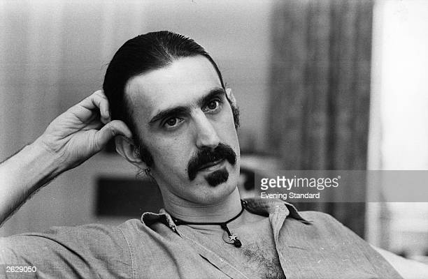 Rock musician avant garde composer and writer Frank Zappa
