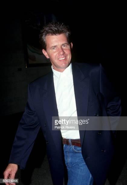 Rock musician Daryl Braithwaite attends arrives at the ARIA Awards 1991 in Sydney Australia Braithwaite was the front man of the Australian rock...