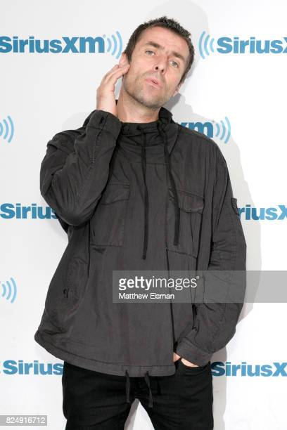 Rock musician Liam Gallagher visits SiriusXM Studios on July 31 2017 in New York City