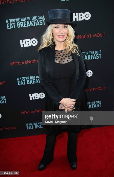 Rock musician Nancy Wilson attends the premiere of HBO's 'If You're Not In The Obit Eat Breakfast' at the Samuel Goldwyn Theater on May 17 2017 in...