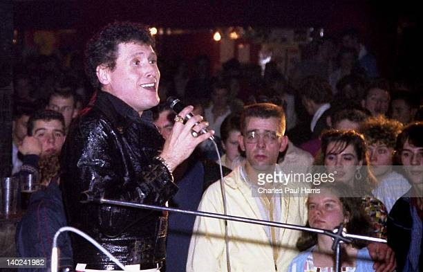 Rock 'n' Roll artist Frankie Ford performs on November 6 1981 in Caister Norfolk England