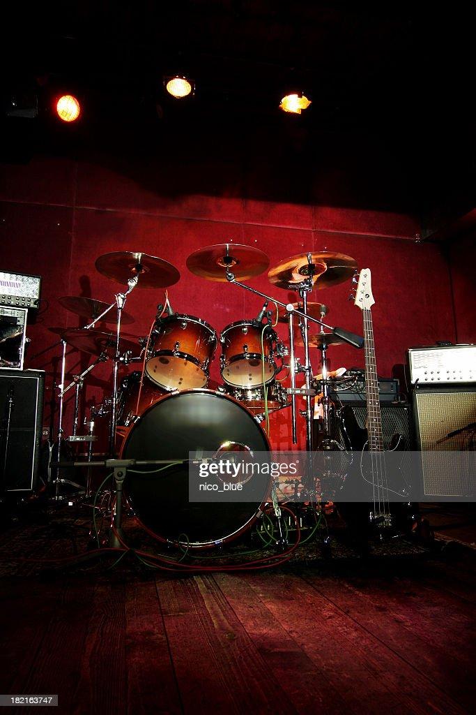Rock n roll stage