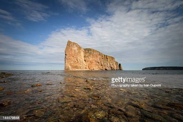 Rock of Perce in Gaspe