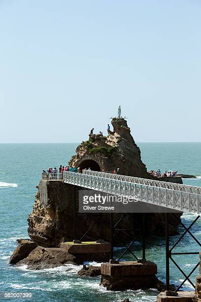 Rock of the Virgin Mary, Biarritz