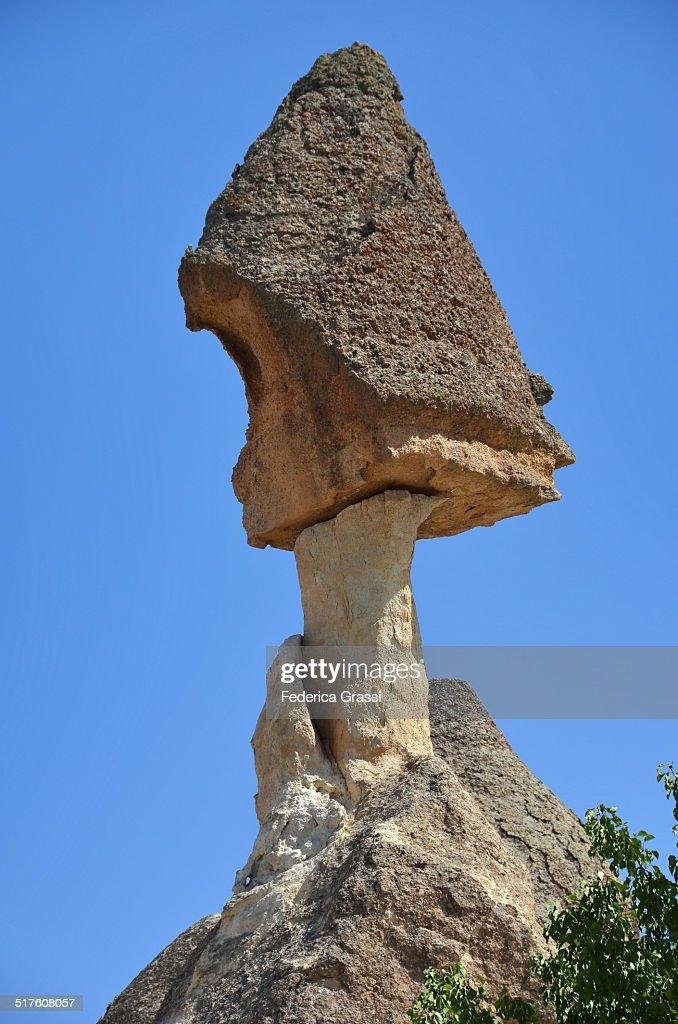 Rock pillar in Cappadocia