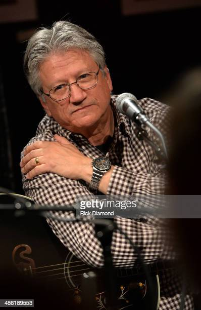 Rock Roll Hall of Fame member Richie Furay performs in the round during the SoundExchange Influencers Series launch at Bluebird Cafe on April 22 2014...