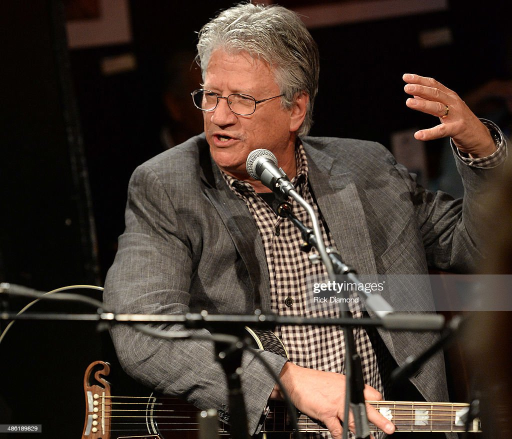 Rock & Roll Hall of Fame member Richie Furay performs in the round during the SoundExchange Influencers Series launch at Bluebird Cafe on April 22, 2014 in Nashville, Tennessee.