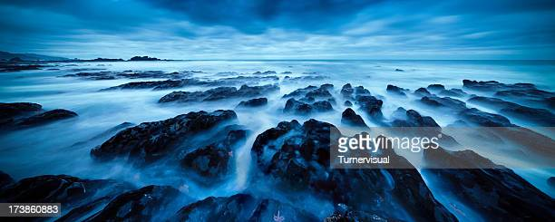 Rock Seascape Panorama