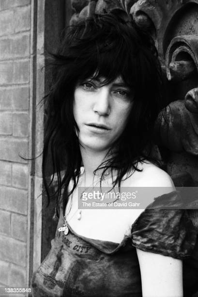 Rock singer and poet Patti Smith poses for a portrait on May 7 1971 at the legendary Hotel Chelsea in New York City New York