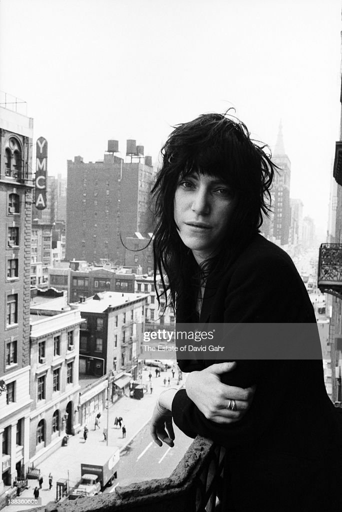 Rock singer and poet Patti Smith poses for a portrait on May 7, 1971 at the legendary Hotel Chelsea in New York City, New York.