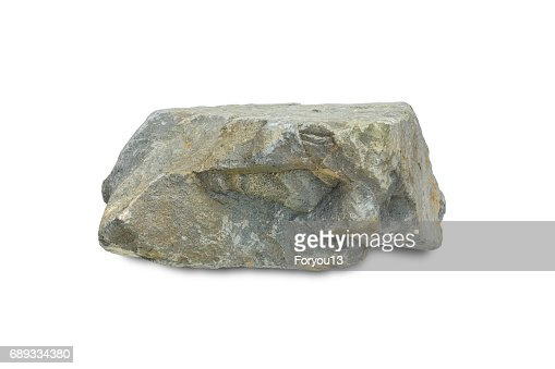rock stone mountain isolated : Stock Photo