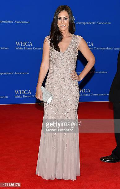Rock The Vote president Ashley Spillane attends the 101st Annual White House Correspondents' Association Dinner at the Washington Hilton on April 25...