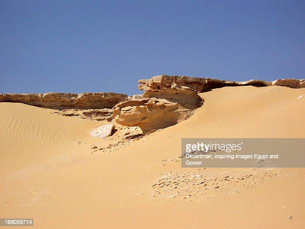 Rock weathering wadi el-rayan desert