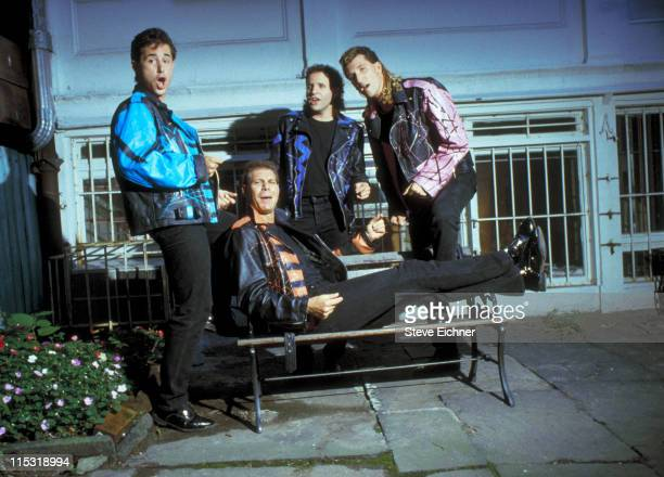 Rockapella during Rockapella Photo Shoot 1990 in New York City New York United States