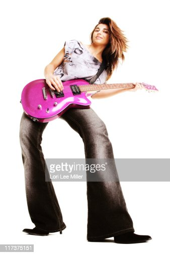 Rocker Girl Series : Stock Photo