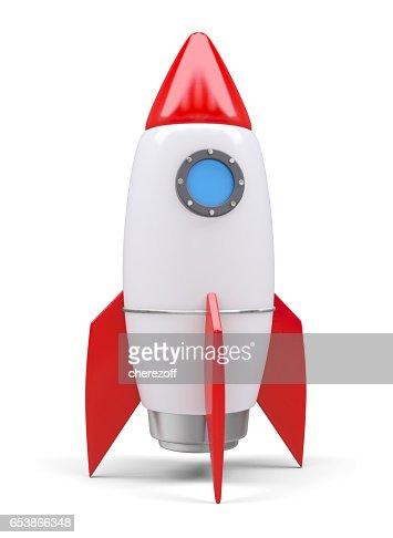 Rocket space ship : Stock Photo