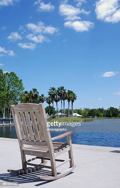 Rocking Chair on the Lake - Rest and Relaxation