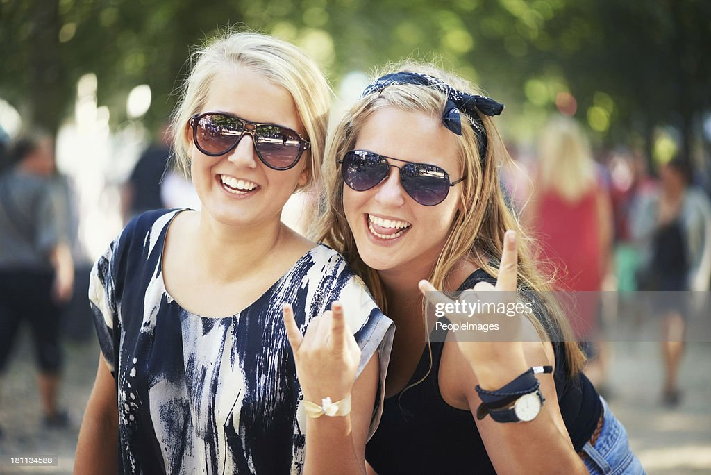 Rocking out : Stock Photo