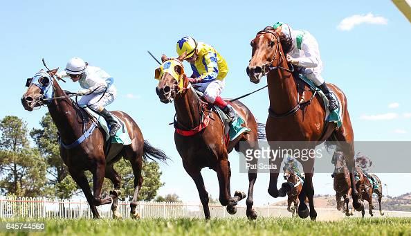 Rockmeartie ridden by Linda Meech wins the Harvey Norman Ararat FM Maiden Plate at Ararat Racecourse on February 27 2017 in Ararat Australia