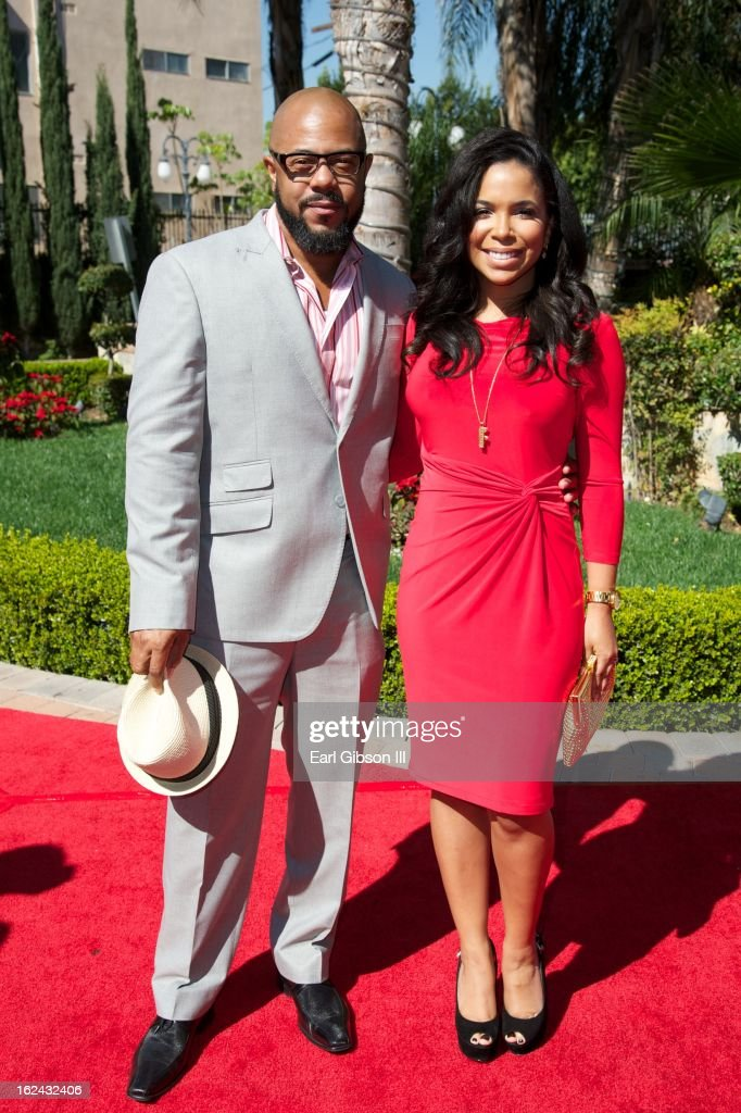 <a gi-track='captionPersonalityLinkClicked' href=/galleries/search?phrase=Rockmond+Dunbar&family=editorial&specificpeople=630262 ng-click='$event.stopPropagation()'>Rockmond Dunbar</a> and his fiance attend the 2nd Annual 'Gospel Goes To Hollywood' Awards Luncheon at Taglyan Cultural Complex on February 22, 2013 in Hollywood, California.