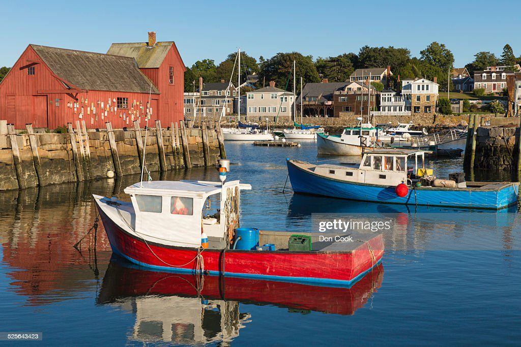 Rockport harbor massachusetts usa stock photo getty images for Ma fishing license cost