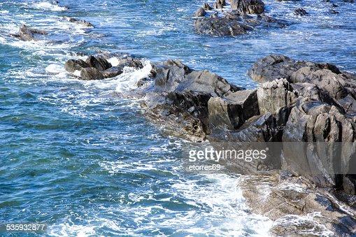 rocks and sea : Stock Photo
