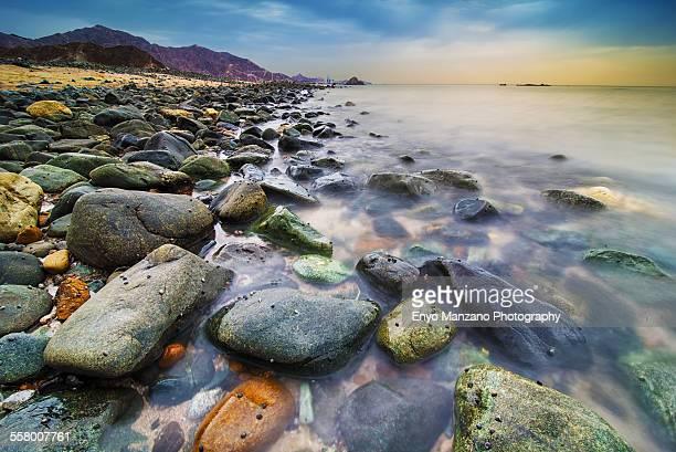 Rocks at Fujairah shore