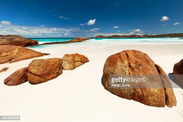 Rocks at Lucky Bay