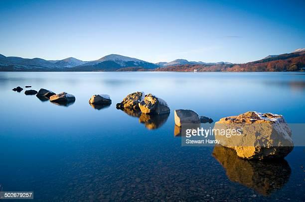 Rocks at the Loch