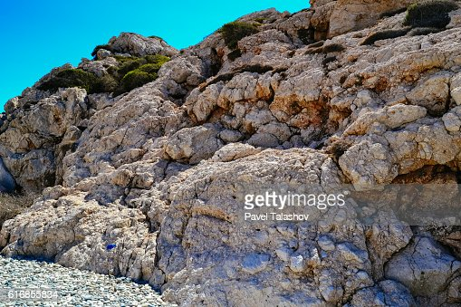 Rocks close up on the shore : Stock Photo
