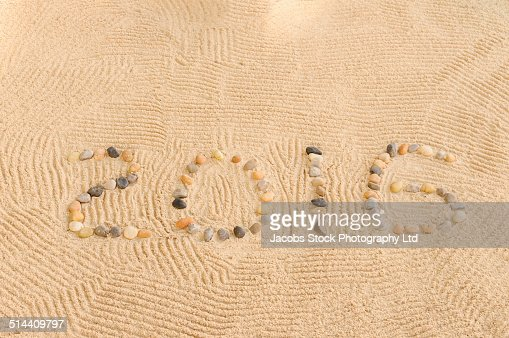 Rocks forming numbers reading 2016