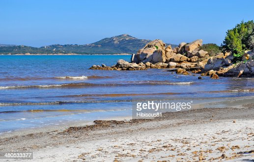 rocks in Lu Impostu : Stock Photo
