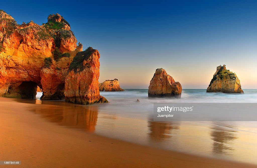 Rocks in sea : Stock Photo