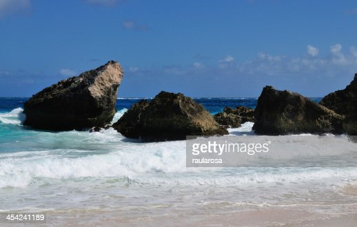 Rocks in the ocean : Stock Photo