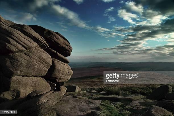 Rocks in the Peak District