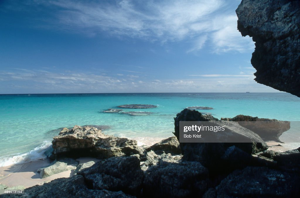 Rocks Near Bermuda Shoreline