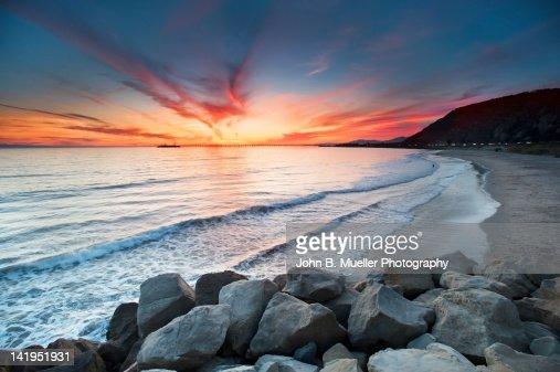 Rocks on sea : Stock Photo
