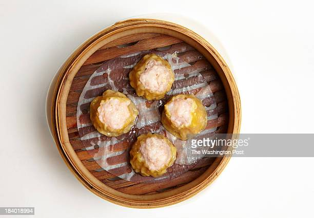 Shrimp shumai in steamer basket at Bob's Shanghai 66 for Ten for $10 or Less Photo by Marge Ely for The Washington Post via Getty Images
