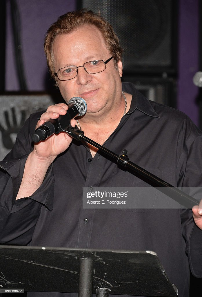 RockWalk director Dave Weiderman attends a ceremony inducting The Goo Goo Dolls into the Guitar Center RockWalk at Guitar Center on May 7, 2013 in Hollywood, California.