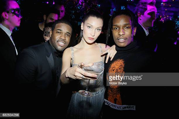 ASAP Rocky ASAP Ferg and Bella Hadid attend the Christian Dior Haute Couture Spring Summer 2017 Bal Masque as part of Paris Fashion Week on January...
