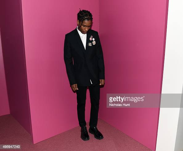 Rocky attends the 2015 Guggenheim International Gala Dinner made possible by Dior at Solomon R Guggenheim Museum on November 5 2015 in New York City