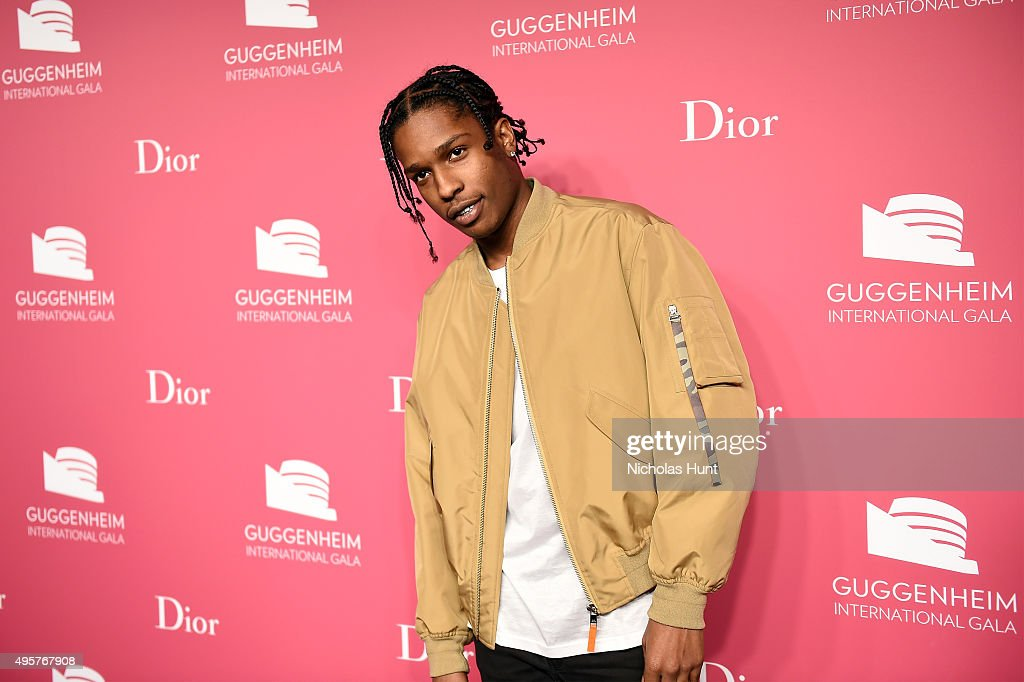 Rocky attends the 2015 Guggenheim International Gala Pre-Party made possible by Dior at Solomon R. Guggenheim Museum on November 4, 2015 in New York City.