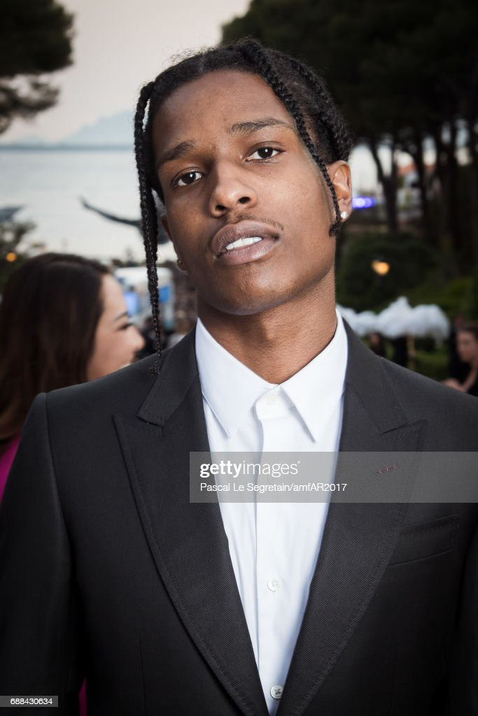 ASAP Rocky attends the amfAR Gala Cannes 2017 at Hotel du Cap-Eden-Roc on May 25, 2017 in Cap d'Antibes, France.