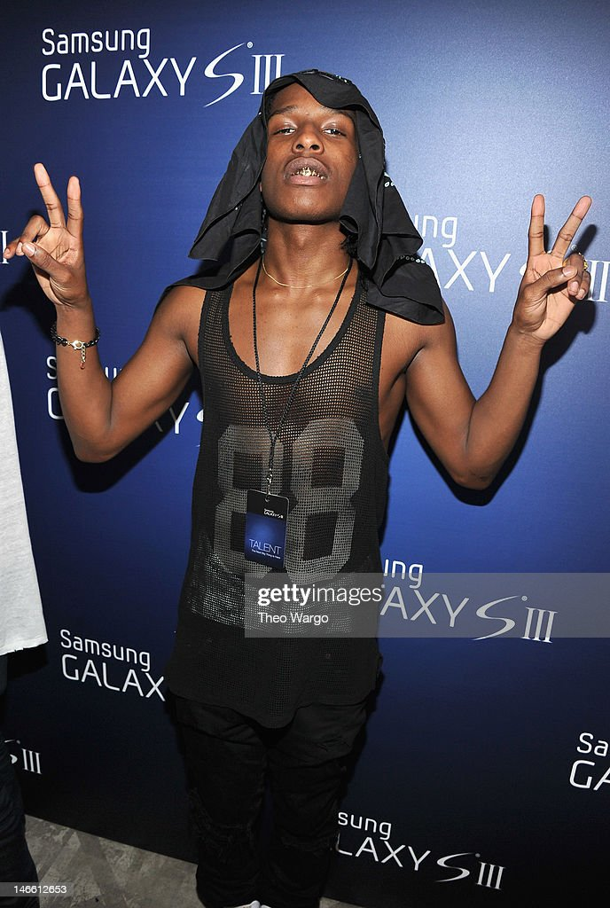 Rocky attends the Samsung Galaxy S III Launch hosted by Ashley Greene at Skylight Studios on June 20, 2012 in New York City.